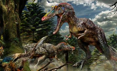 Qianzhousaurus400